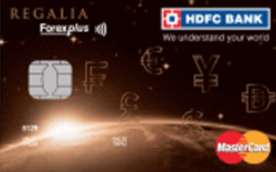 Regalia Forex Plus Card