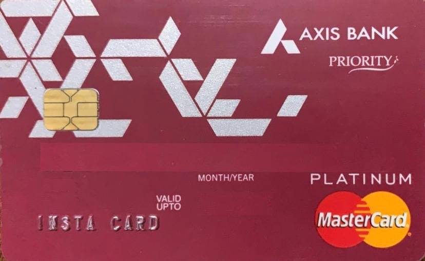 Axis Bank Priority Debit Card