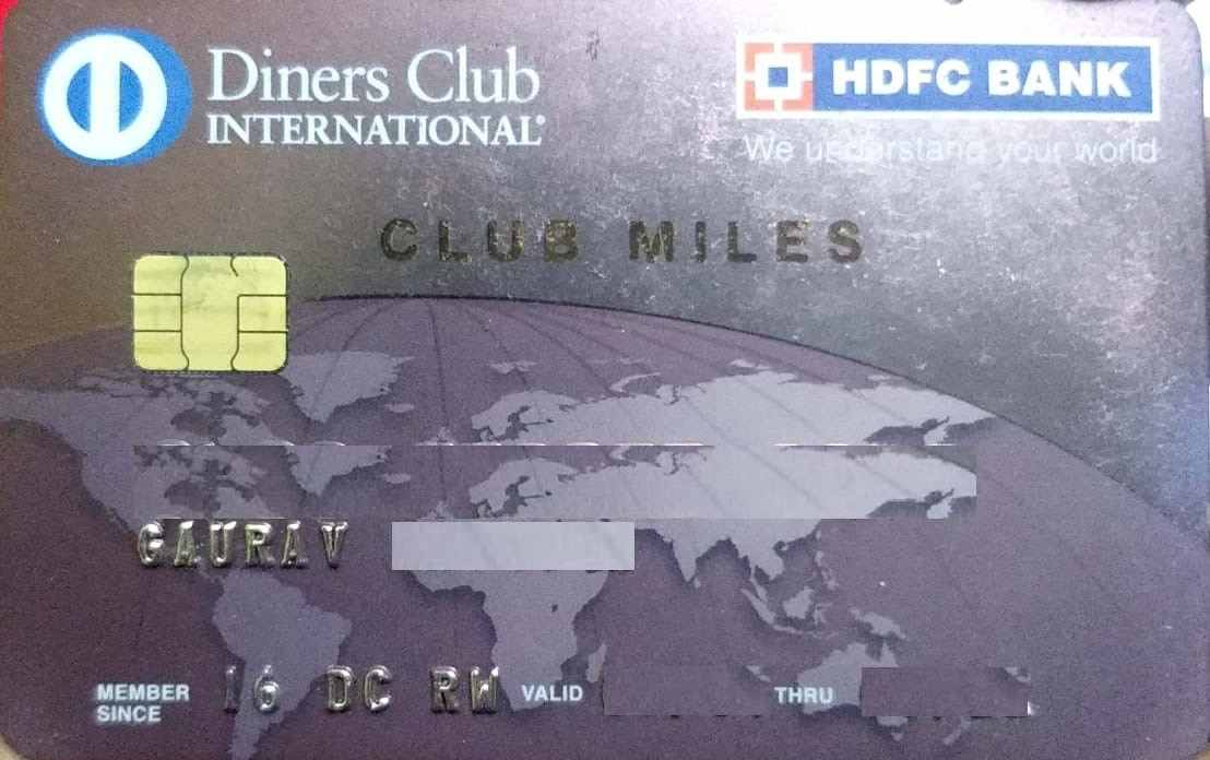 HDFC Diners Clubmiles