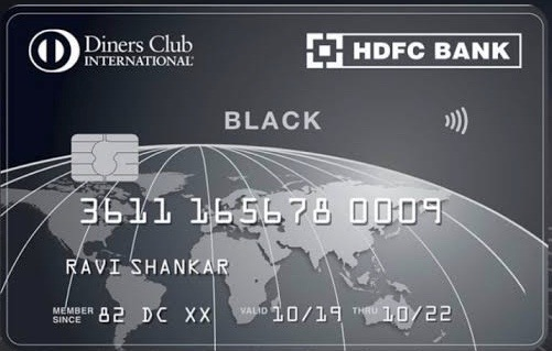 HDFC Diners Black