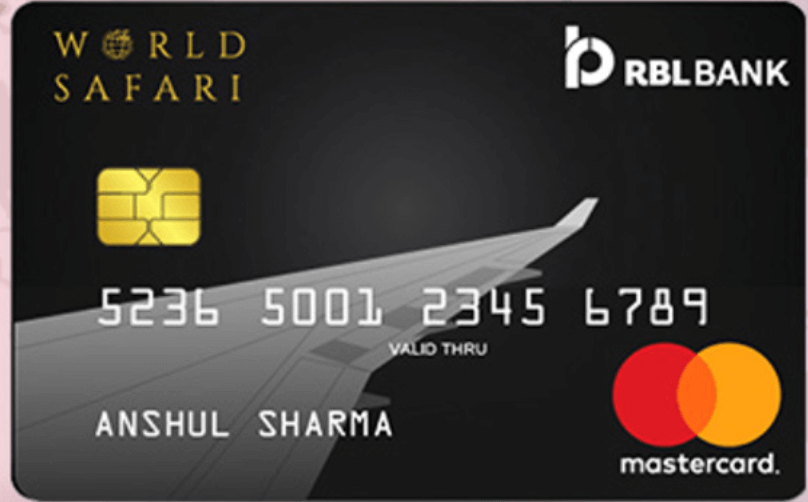 RBL World Safari Credit Card