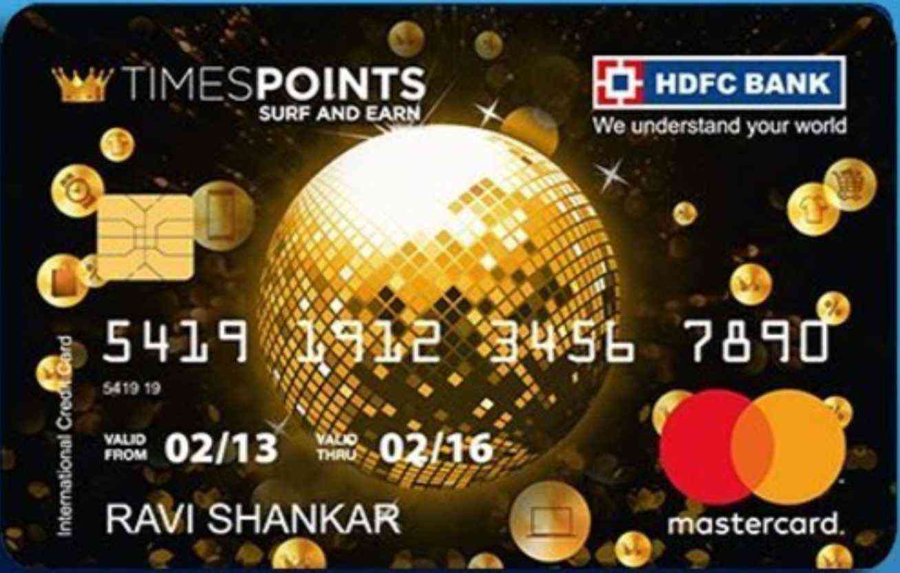 HDFC Times Points Debit Card