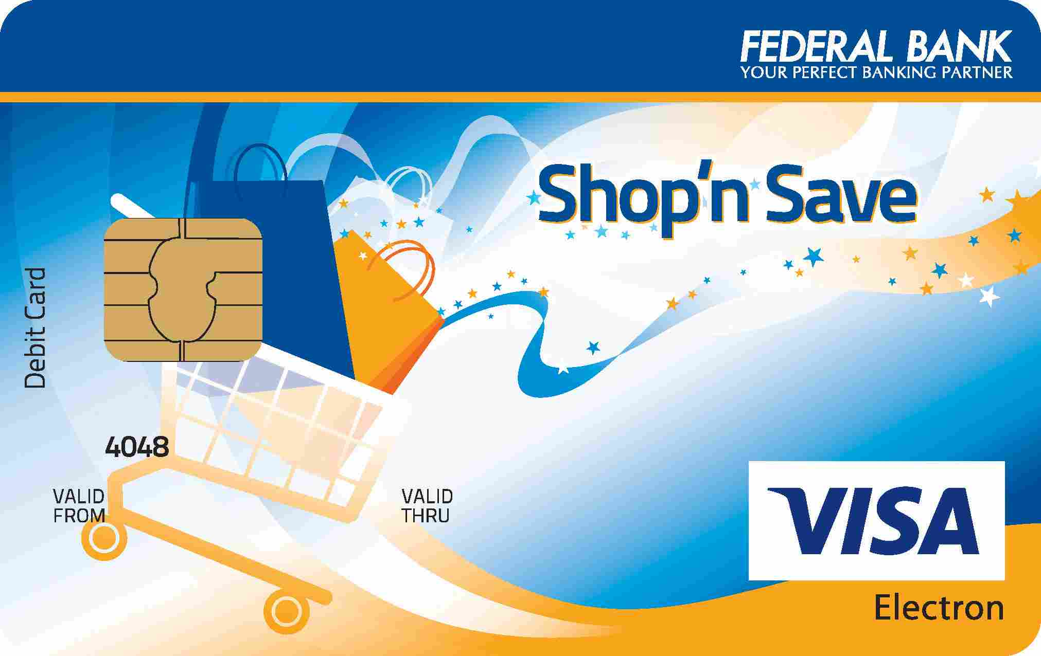 Federal Bank Shop and Save Debit Card
