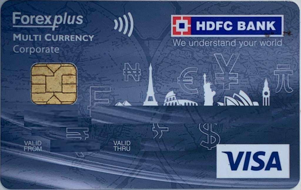 Multicurrency Platinum ForexPlus Chip Card