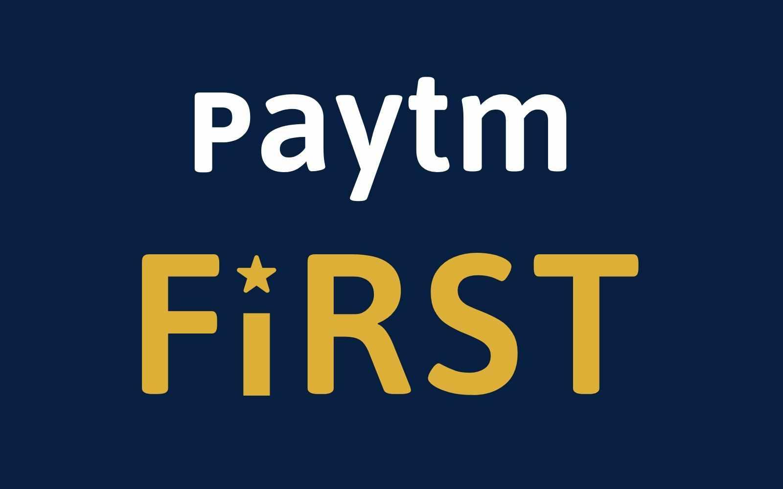 Paytm First Membership
