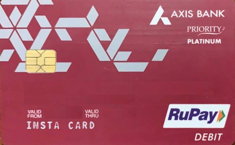 Axis Bank Prestige Debit Card