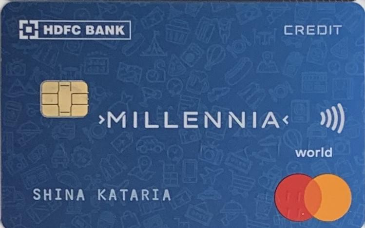 HDFC Millennia Debit Card