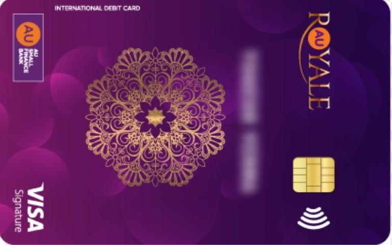 AU Royale Visa Signature Debit Card